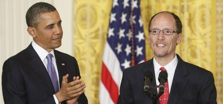 Demokrat Parti'nin yeni başkanı Obama'nın çalışma bakanı oldu