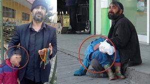 Taksim'de oğlunu bayıltarak dilenen baba Adapazarı'nda yakalandı