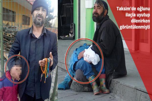 Taksim'de oğluna ilaç vererek dilendiren Muhammet Abdullah Adapazarı'nda yankesicilikten gözaltında