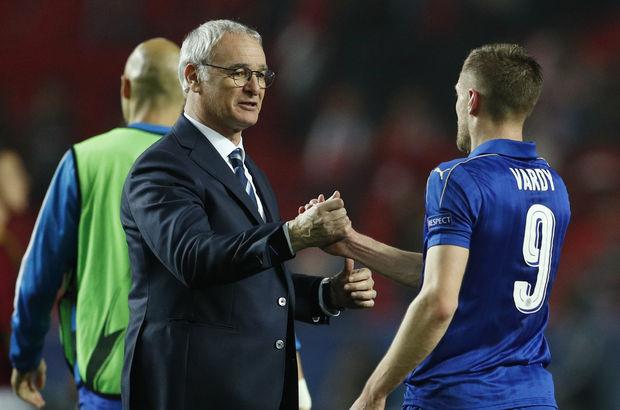 Jamie Vardy Claudio Ranieri Leicester City
