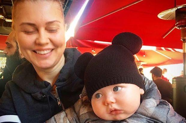 Didem Uzel Sarı'nın bebeği sosyal medyada fenomen oldu