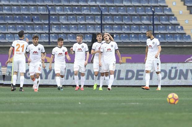 Osmanlıspor: 0 - Başakşehir: 1 (MAÇ SONUCU)