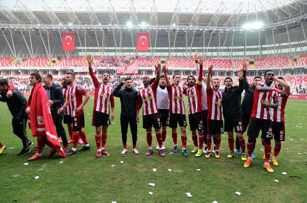 Sivasspor: 1 - Büyükşehir Gaziantepspor: 0