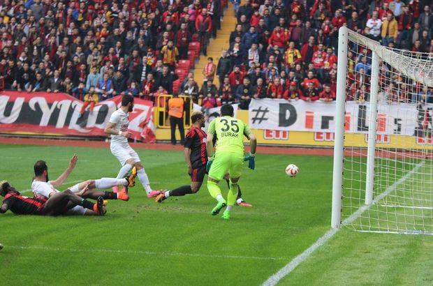 Eskişehirspor: 0 - Ümraniyespor: 0   MAÇ SONUCU