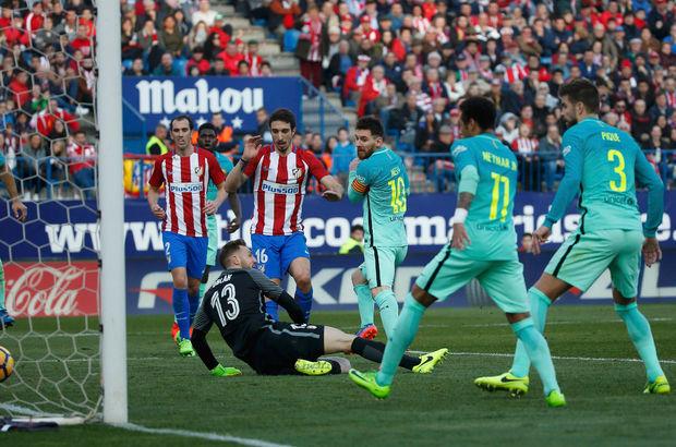 Atletico Madrid: 1 - Barcelona: 2   MAÇ SONUCU