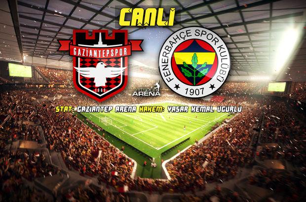 Gaziantepspor: 1 - Fenerbahçe: 1 | MAÇ SONUCU (Süper Lig 22. hafta)