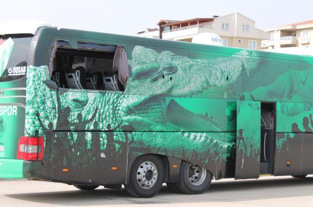 Jandarma, Bursaspor otobüsüne saldıranları arıyor