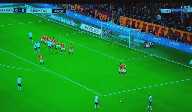 Talisca'nın Galatasaray'a attığı gol sosyal medyayı salladı