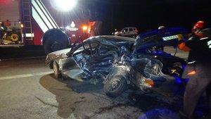 TEM yolunda feci kaza: 2 ölü