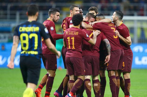 AS Roma, deplasmanda Inter'i mağlup etti