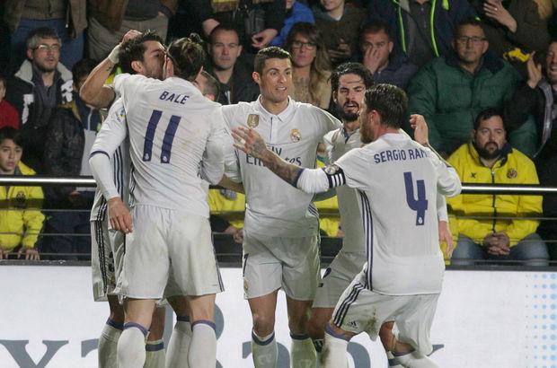 Real Madrid muhteşem dönüşle Villarreal'i devirdi!