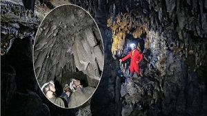 Bursa'da tarihi mağarayı defineciler buldu