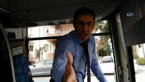 Bursa'da engelli çocuk ve babasını kovan şoför hakkında soruşturma
