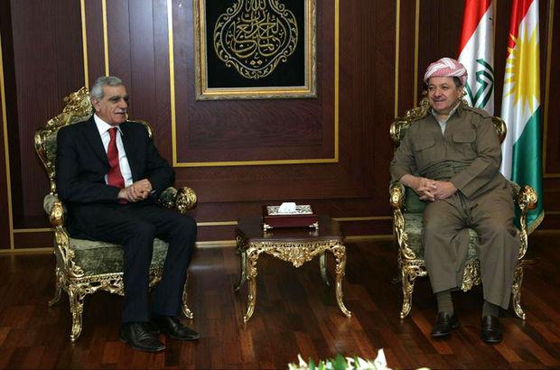 Ahmet Türk, Barzani'yle görüştü