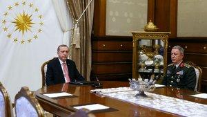 Erdoğan, Fikri Işık ve Org. Hulusi Akar ile görüşecek