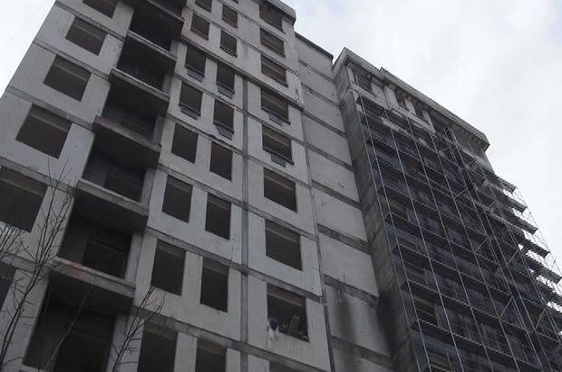 Kadıköy'de inşaat işçisinin feci ölümü