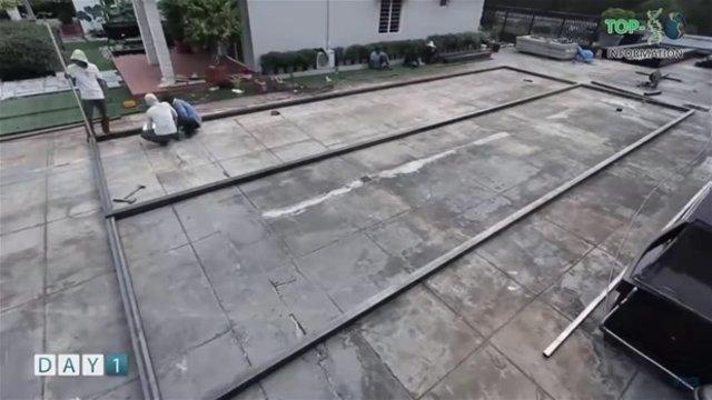 Sadece 6 günde ev inşa ettiler