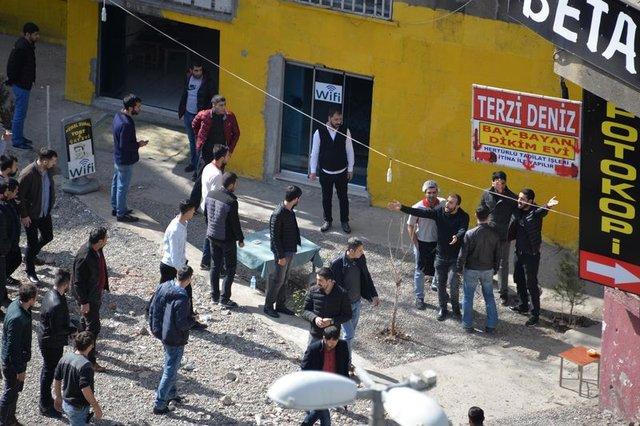 Diyarbakır'da pitbullu, taşlı, sopalı, satırlı kavga