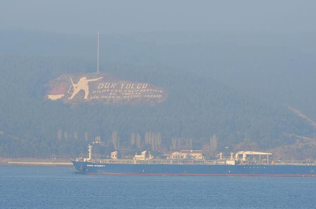 Çanakkale'deki yoğun sis feribot seferlerini durdurdu