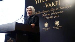 Emine Erdoğan: 2. Abdülhamit dönemi bir ayna hükmündedir