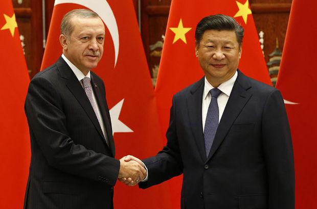 Çin Devlet Başkanı Jinping Cumhurbaşkanı Erdoğan'ı Çin'e davet etti