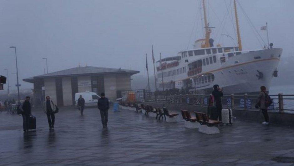 İstanbulda şehir hatlarının tüm seferleri iptal edildi