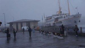İstanbul'da iptal edilen şehir hatları seferleri normale döndü