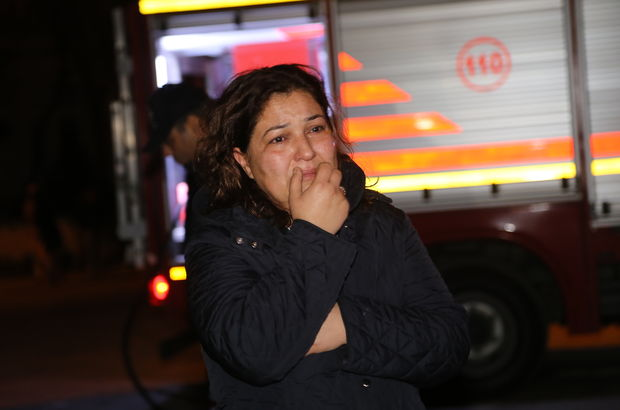 Adana'da kereste fabrikasında yangın