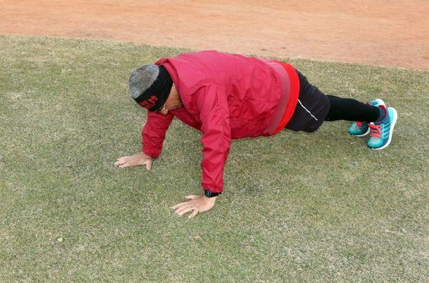70 yaşındaki Kadir Kara kanseri sporla yendi!
