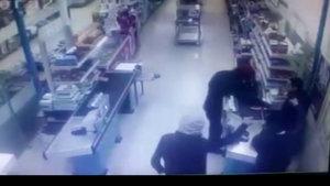 Diyarbakır'da bıçaklı silahlı market soygunu