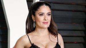 Salma Hayek Oscar'a damga vurdu