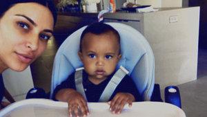 Kim Kardashian'ın oğlu Saint West'e beğeni yağmuru