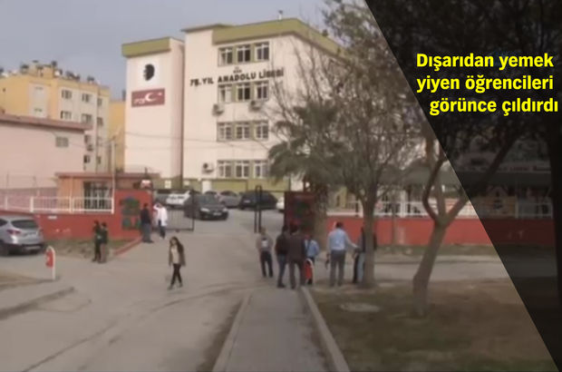 Adana'da lisede kantinci çırağı dehşeti