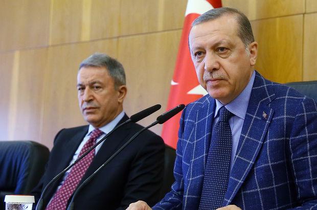 Cumhurbaşkanı Erdoğan'dan Genelkurmay haberi hakkında sert açıklama