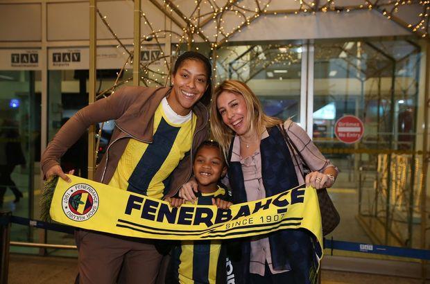 Fenerbahçe'nin yeni transferi Candace Parker İstanbul'da!
