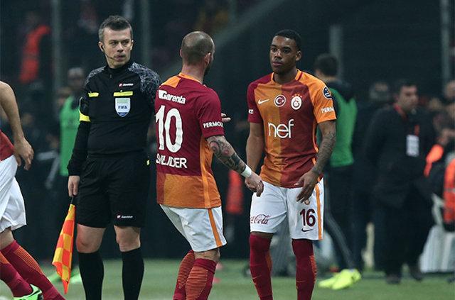 """Wesley Sneijder: """"Igor Tudor'a söyleyin beni de kadro dışı bıraksın"""""""