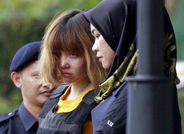 Kim Jong-nam suikastının şüphelileri hakim karşısına çıktı