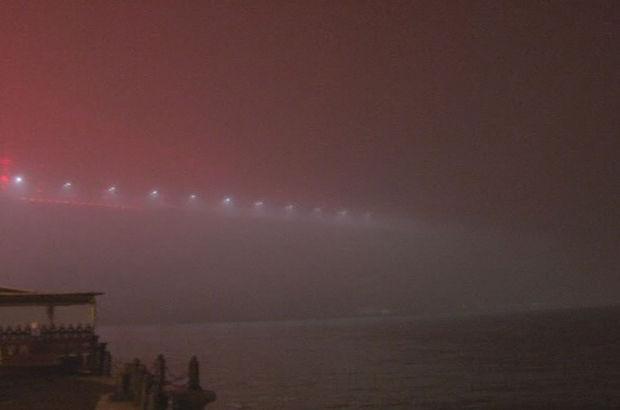 İstanbul'da sis etkisini sürdürüyor
