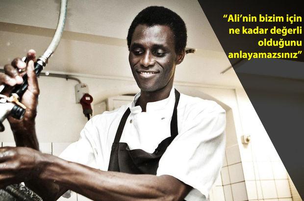 Gambiyalı bulaşıkçı Ali dünyanın en iyi restoranlarından Noma'ya ortak oldu