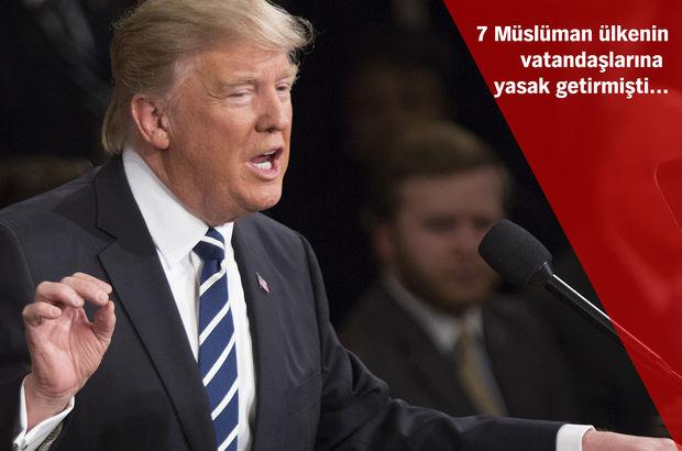 Trump'ın 'seyahat yasağı' listesinden bir ülke çıkartılıyor!