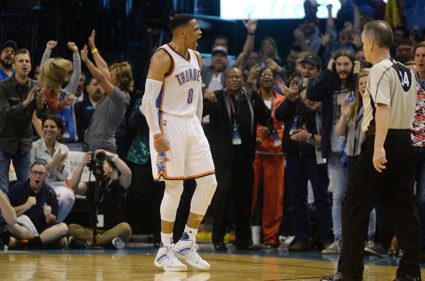 Westbrook'tan sezonun 30'uncu