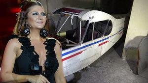 Binanın bodrum katındaki uçak görenleri şoke etti!