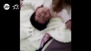 Sosyal medya bebeğe uygulanan şiddeti konuşuyor!