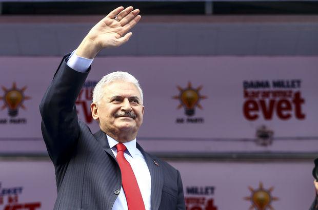 Başbakan Binali Yıldırım Amasya'da: Anayasa değişikliği Erdoğan için değil, herdoğan için