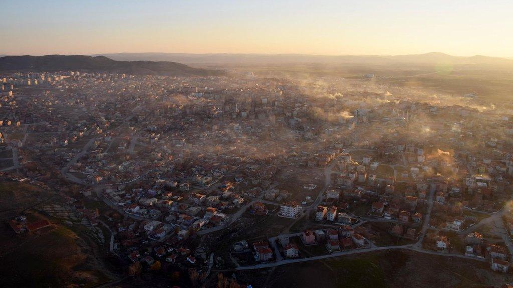 Türkiye'nin havası en kirli yerleşim yerinde bir ilk!
