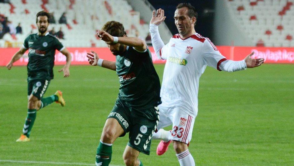 Sivasspor: 0 - Atiker Konyaspor: 0  Ziraat Türkiye Kupası
