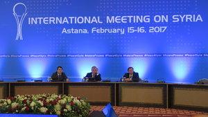 Astana görüşmelerinde dördüncü tur 14 Mart'ta yapılacak