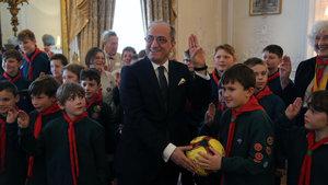 İngiliz çocuklardan sığınmacı çocuklara jest