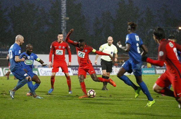 Niort: 0 - Paris Saint-Germain: 2