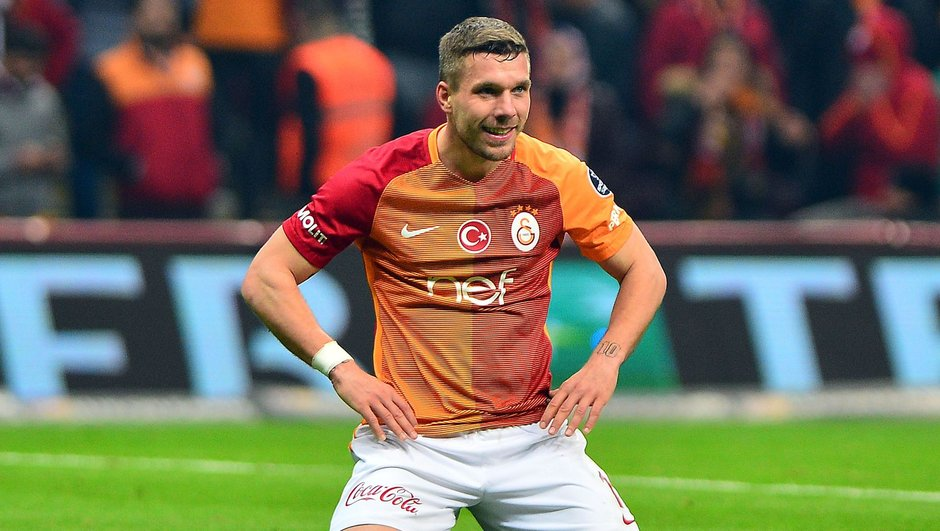 Lukas Podolski Galatasaray Vissel Kobe
